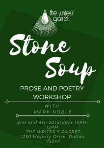 Copy of Stone Soup Prose and Poetry